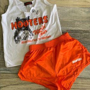 Hooters girl costume